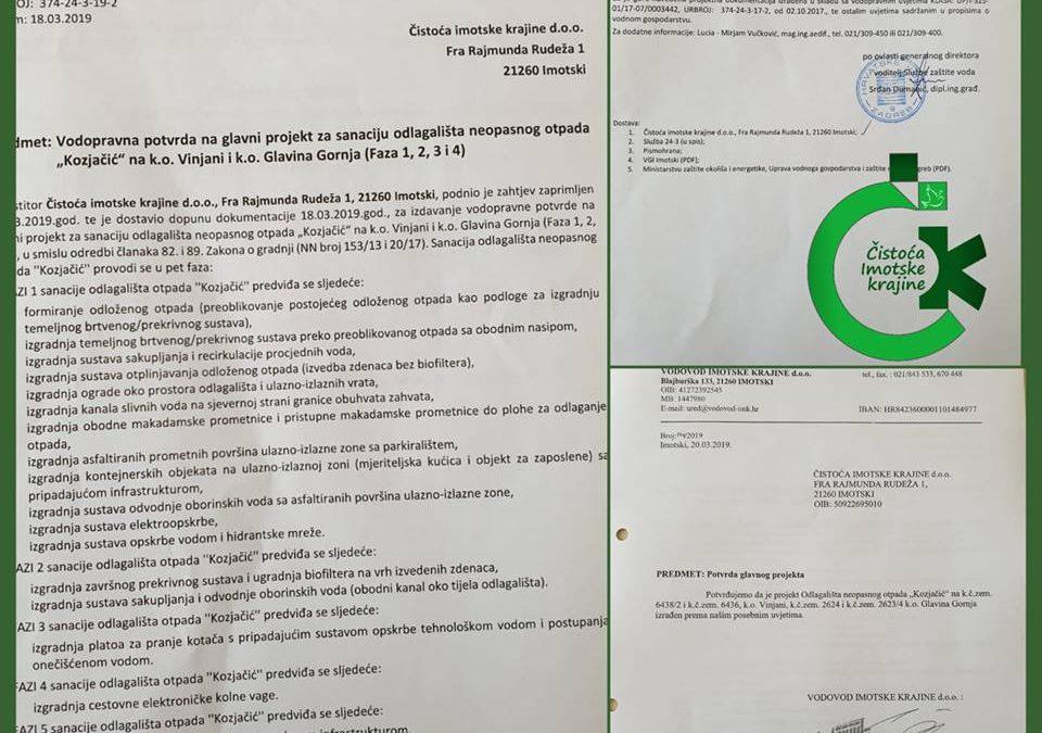 """Projekt """"Kozjačić"""" napreduje očekivanim tempom"""
