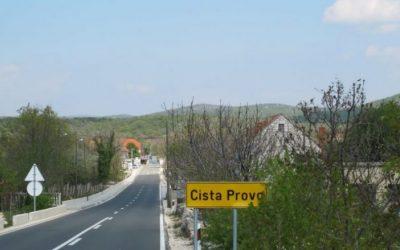 Obavijest o prikupljanju glomaznog otpada u općini Cista Provo