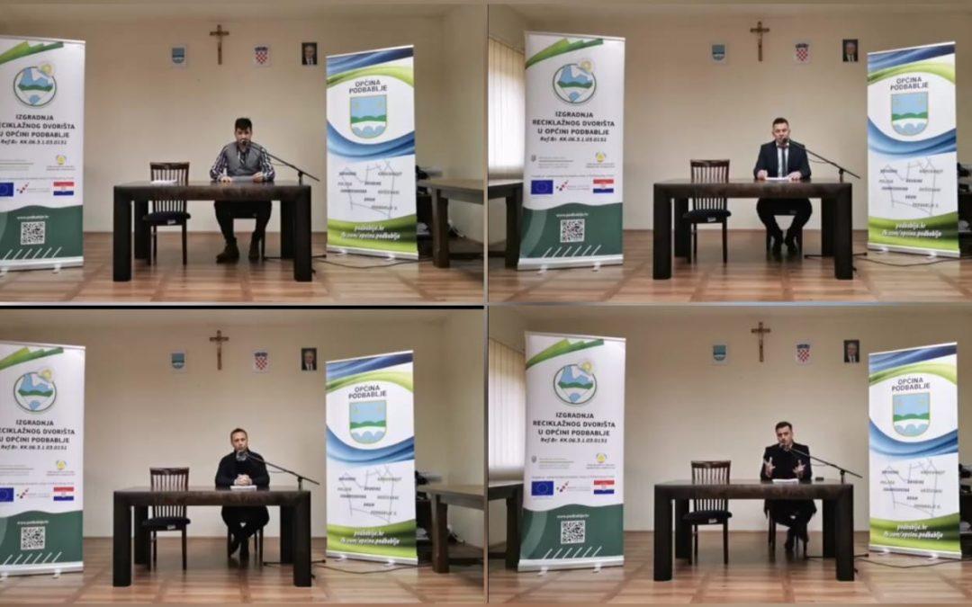 """Održana završna konferencija """"Izgradnja reciklažnog dvorišta u općini Podbablje"""""""